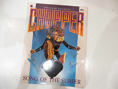 Chopper Song of the Surfer - signed