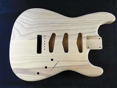 Guitar Body Stratocaster  usa hard ash 2.45 KG G@B2167 guitar build and luthier