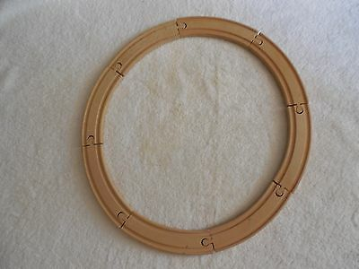 """THOMAS THE TRAIN Wood Wooden Track 6"""" Curved Pieces x Six (6) Lot Brio/Compat"""