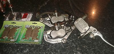 Yamaha xj600 diversion brake calipers front master lever with new pads & seals