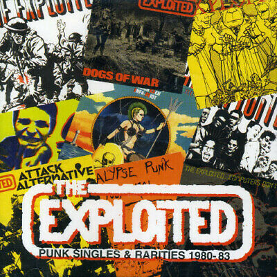 The Exploited - Punk Singles and Rarities [New CD] UK - Import