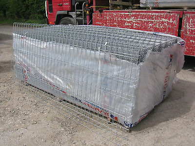 1    Sheet Of New Approx  9Ft X 4Ft Sheet Of Galvanised Steel Wire Mesh