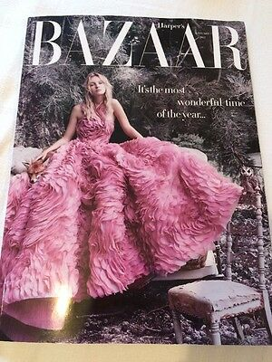 Harper's Bazaar UK Magazine January 2017 - NEW - Subscribers Cover Edition