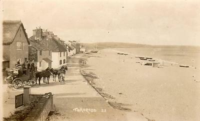 Torcross Coach & Horses unused RP pc  Ref A171