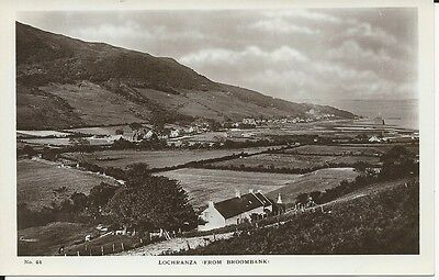 RP postcard of Lochranza from Broombank, Isle of Arran
