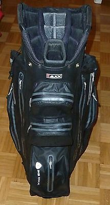 Big Max Cartbag I - Dry Aqua - Farbe blackcharcoal, 100%Wasserdicht, Golfbag