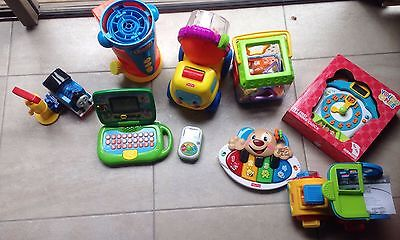 Bulk toys; fisher and price, leap frog