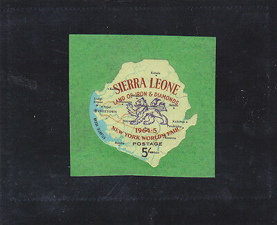 Stamps of Sierra Leone.
