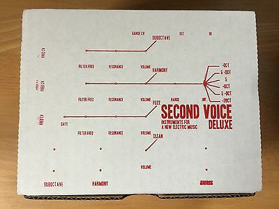 Infanem Second Voice Deluxe fuzz synth harmonizer guitar/bass/keyboard pedal