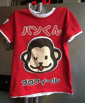 Red Monkey T-shirt XS