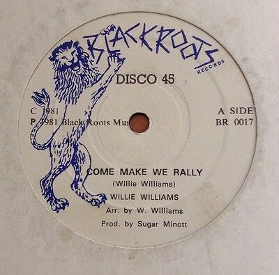 Willie Williams / Yabby You - Come Make We Rally / Thirty Pieces Of Silver 12""