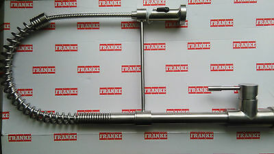 Franke SWISS PRO stainless steel pull out nozzle MONOBLOC SPRING SINK TAP mixer