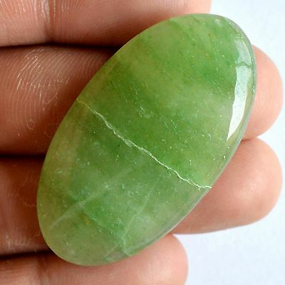 Natural Green Aventurine Cabochon Gemstone,Genuine Aventurine Jewelry Stone#1134