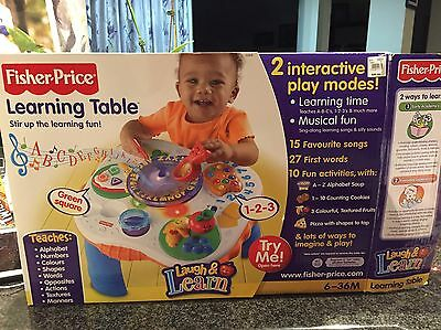 Fisher Price Learning Table Laugh & Learn