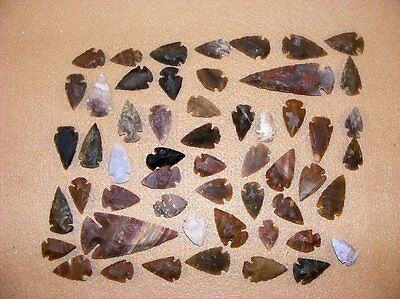 50+ Arrowhead collection Part of Huge Texas Estate stone flint bs-art 5-1400