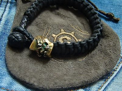 Starlingear Leather Bracelet with bead