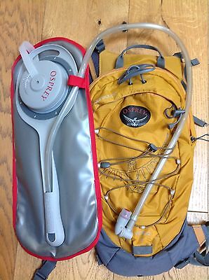 Osprey Viper 7 cycling running backpack with Water Hydration Bag Included
