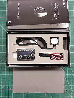 Brand New Genuine Futaba Gy701 Heading Hold Gyro & Governor For Model Helicopter