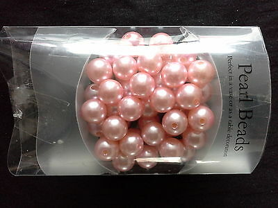 soft pink pearl beads