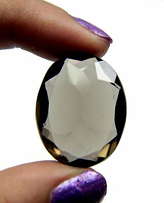 eBay Excellent Piece of Natural 35.90 Ct. Oval Cut Smoky Quartz Loose Gemstone