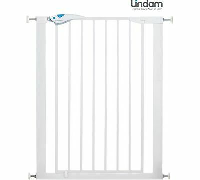 *lindam* - *tall* Easy Fit Plus Deluxe *stair Gate / Baby Gate* - Vgc*