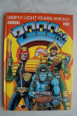 Vintage 2000 AD 1987 Annual - UK Annual - Judge Dredd Book - 29 Years Old