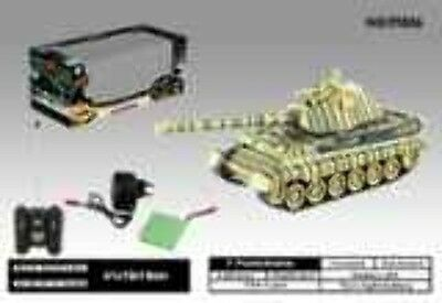 Zeagan 1/28 German King Tiger Tank 2.4ghz Battle Simulation 99806