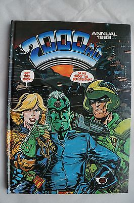 Vintage 2000 AD 1988 Annual - UK Annual - Judge Dredd Book - 28 Years Old