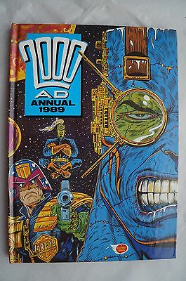 Vintage 2000 AD 1989 Annual - UK Annual - Judge Dredd Book - 27 Years Old