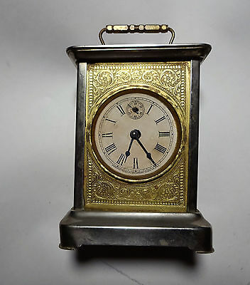 Antique Waterbury Carriage Clock Alarm As Found NO RESERVE