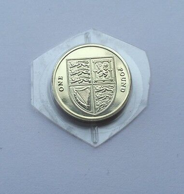 2016 BU Brilliant Uncirculated Shield One Pound Coin Mint