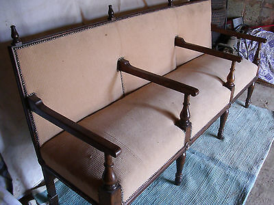Victorian hall/reception bench/seat