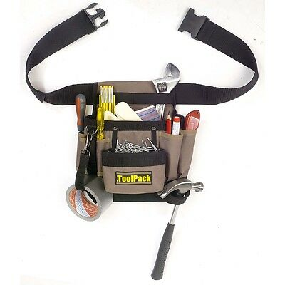 NEW Toolpack Single-Pouch Tool Belt Classic 360.054 Heavy Duty Adjustable Waist