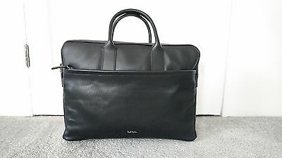 Paul Smith Bag - Business Folio Black Leather Bag holdall /BNWT/RRP:£690