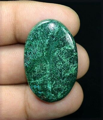 57.00 Cts. 100 % Natural  A+ Chrysocolla Oval Cabochon Untreated Loose Gemstones