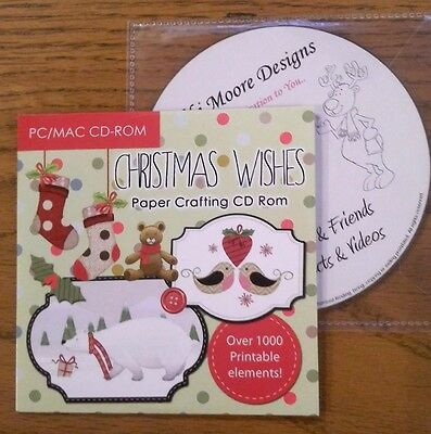 Christmas Wishes Papercrafting & Rudolph & Friends Projects & Videos Double CDs.