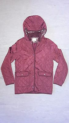 M&s Quilted Horse Jacket Size 13-14 Years