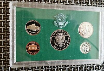 1996 united states mint proof set of coins with coa