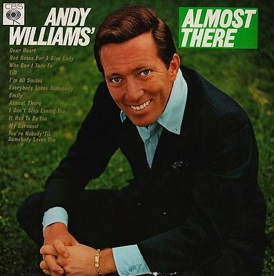 Andy Williams-Almost There LP-CBS, BPG 62533, 1965, 12 Track