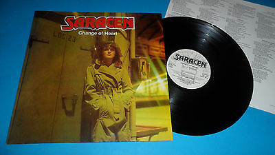 Saracen 'change Of Heart' Neat 1016 Aor Neat Records 1984 Uk Issue Stereo