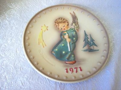 Annual Hummel Collector Plate - 1971 - Angel - No Box