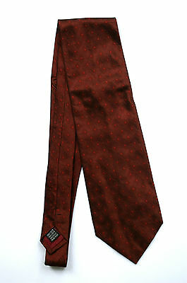 GIANNI RIVA Krawatte, 100% Seite, made in Italy, All-Over, dunkelweinrot, Top!