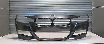 Bmw 3 Series F30 F31 M Sport Front Bumper With Washer Jets Genuine 2013 -On