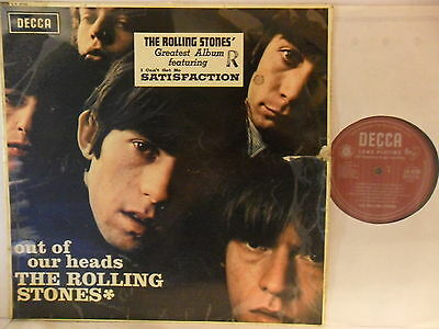 Rolling Stones - Out of Our Heads - LP 1965 UK - Decca LK 4725 - Lesen!