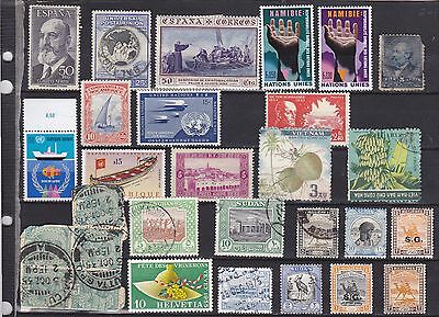 World Mix of stamps.