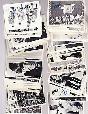 1964 TOPPS BEATLES  SERIES 1 - 2- 3 BLACK & WHITE 184CARD LOT(144 different)