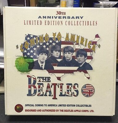 The Beatles 30th Anniversary Limited Edition Collectibles - Very Rare