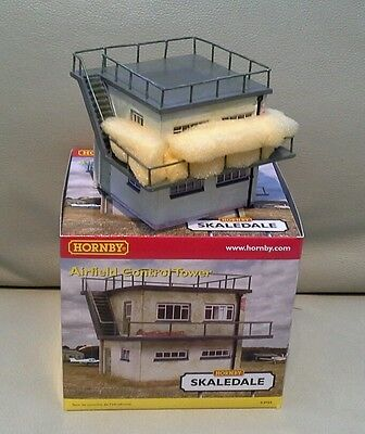 Hornby Skaledale R8989 Airfield Control Tower  mint boxed Rare