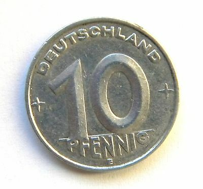 Germany, 10 Pfennig 1950 E.