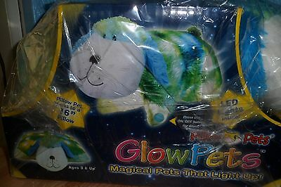 "Cute Large Glow Pets 16"" Glow Pup Pillow Pet***bnib***new***christmas?**boxed***"